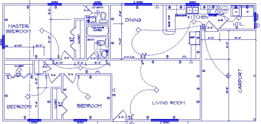 Electrical house plan design electrical blog for Household electrical wiring design