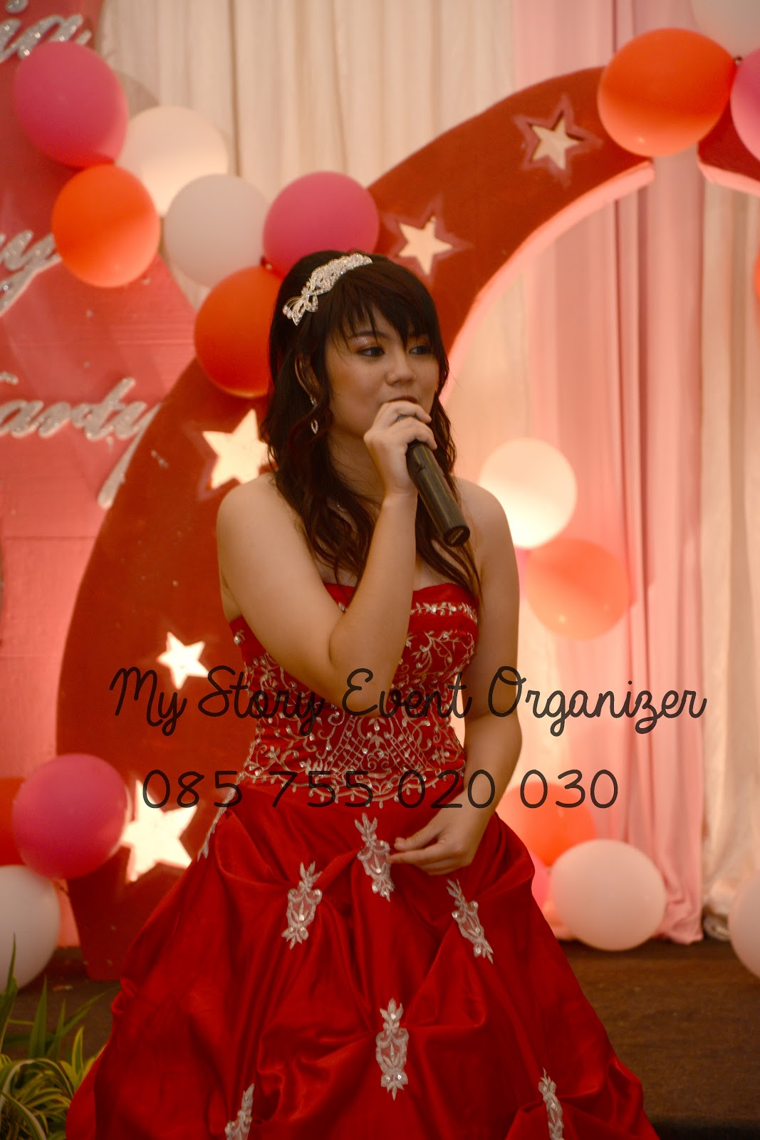 Undangan Sweet 17th