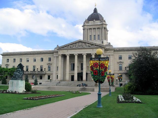 Manitoba Legislative Building em Winnipeg