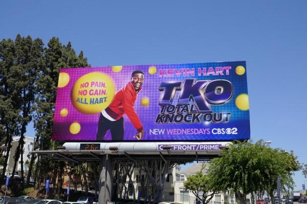 TKO Total Knock Out season 1 billboard