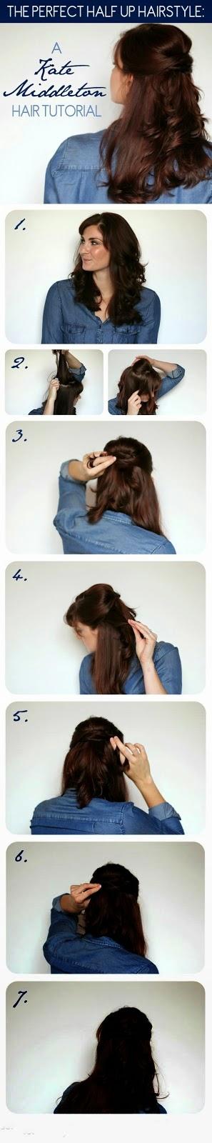 A Kate Middleton Hair Tutorial}