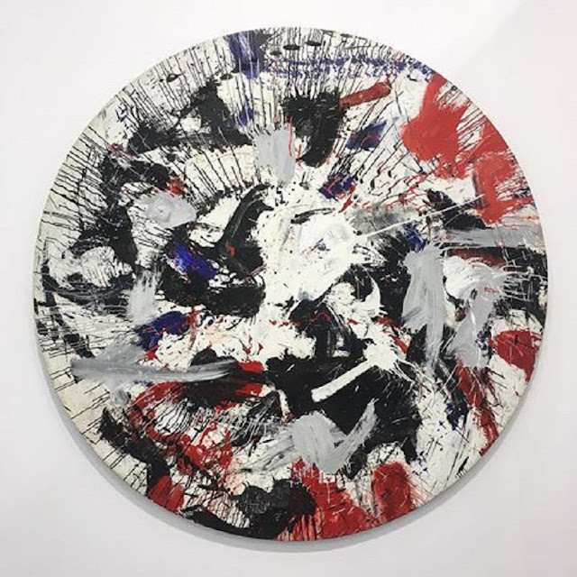 Alfons Schilling - Action Painting - European abstract painting