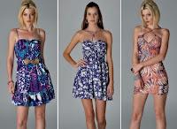 Vestidos primavera verão e vestidos tropicais regem o mercado de ponta a ponta, não importando o ano, sempre estará em alta.