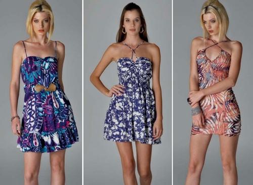 Moda Primavera Verão 2013 tendências e vestidos