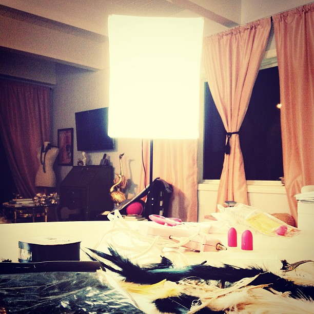 Home office Studio lighing