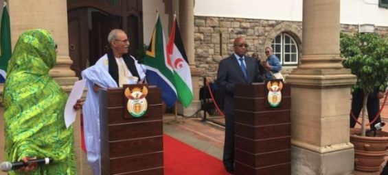 Le polisario appelle l'Afrique du Sud pour barrer la route du Maroc à l'Union Africaine