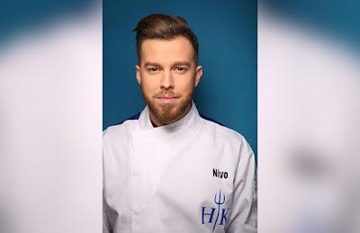Στο Hell's Kitchen συμμετέχει ο 25χρονος Θεσπρωτός μάγειρας Nίνο Τσατσούλης
