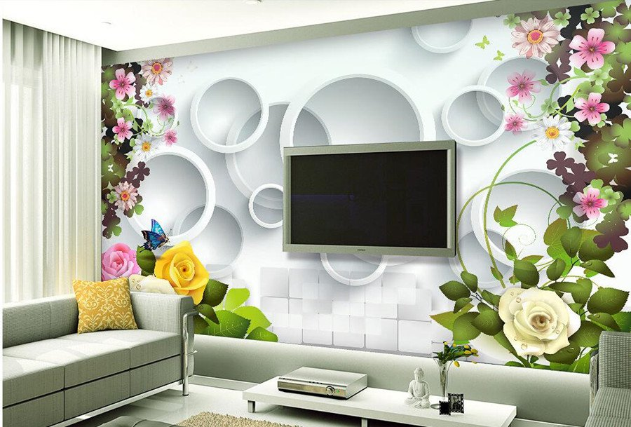 Dwell of decor 20 fantastic 3d wallpaper for tv wall - Wallpaper interior design pictures ...