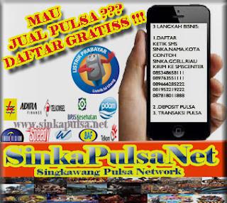Pulsa Murah Nasional Harga TErbaru @Sinka Pulsa online elektrik Singkawang Kalimantan Barat