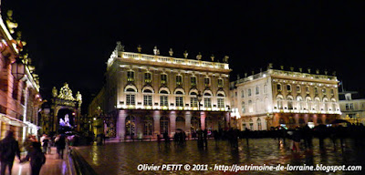 NANCY (54) - Place Stanislas : photos nocturnes de fin d'année 2011
