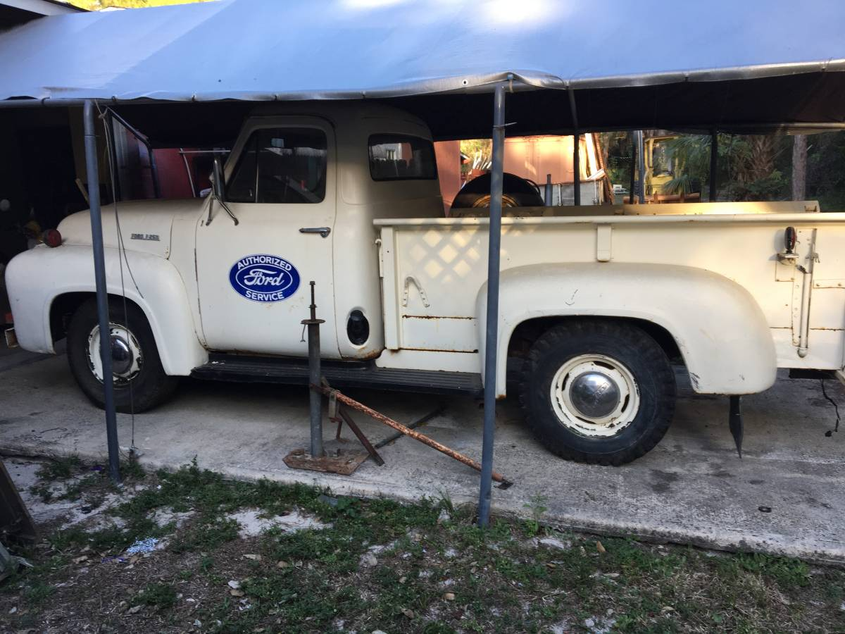Daily Turismo Flathead Power 1953 Ford F 250 Pickup 1961 4x4 Truck For Sale I Dont Have An Old Round Fender In My Garage But If Did Itd Look Like This Offered 7500 Naples