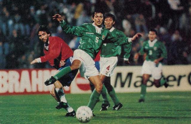 Chile y Bolivia en Copa América 1995, 14 de julio