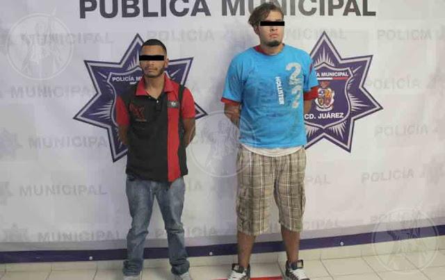 Tras enfrentamiento detienen a dos sicarios que iban a ejecutar a una victima, confesaron cobrar 5 mil pesos semanales por matar