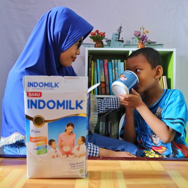 Susu Bubuk Indomilk dengan Nutrisi Lengkap Untuk Anak Usia 4 Tahun Ke atas