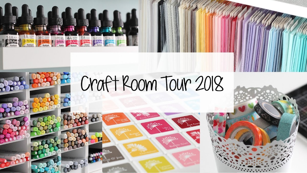 The Card Grotto Video Craft Room Tour 2018