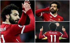 محمد صلاح لاعب ليفربول الإنجليزى، ينافس إيمانويل أديبايور على جائزة أفضل لاعب أفريقى فى أوروبا