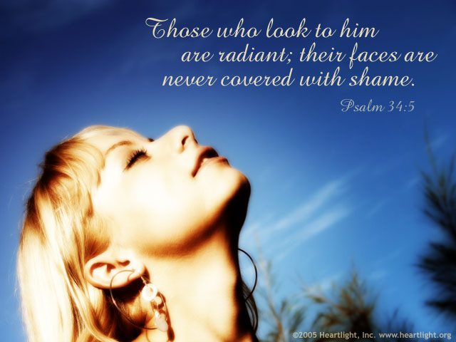 Jesus Never Covered with Shame
