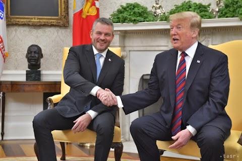Az amerikai elnök a Fehér Házban fogadta a szlovák kormányfőt