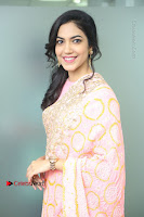 Actress Ritu Varma Pos in Beautiful Pink Anarkali Dress at at Keshava Movie Interview .COM 0064.JPG