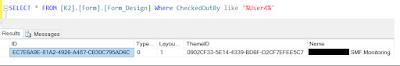 Undo Smartform Check Out in K2 Smartform over Database