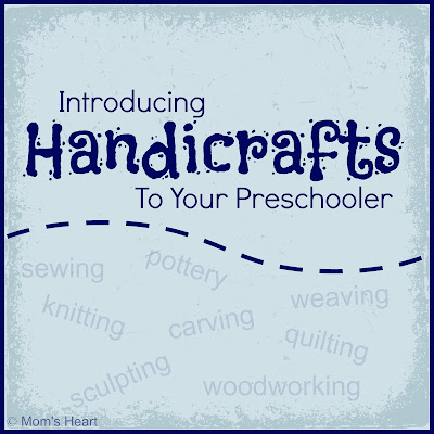Introducing Handicrafts to Preschoolers