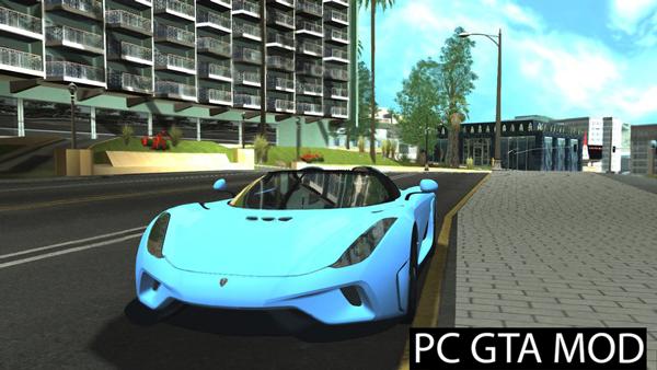 Free Download Koenigsegg Regera  Mod for GTA San Andreas.