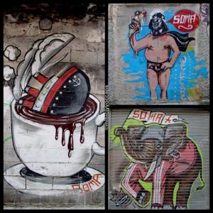 Arte Urbano 1, Casco Antiguo
