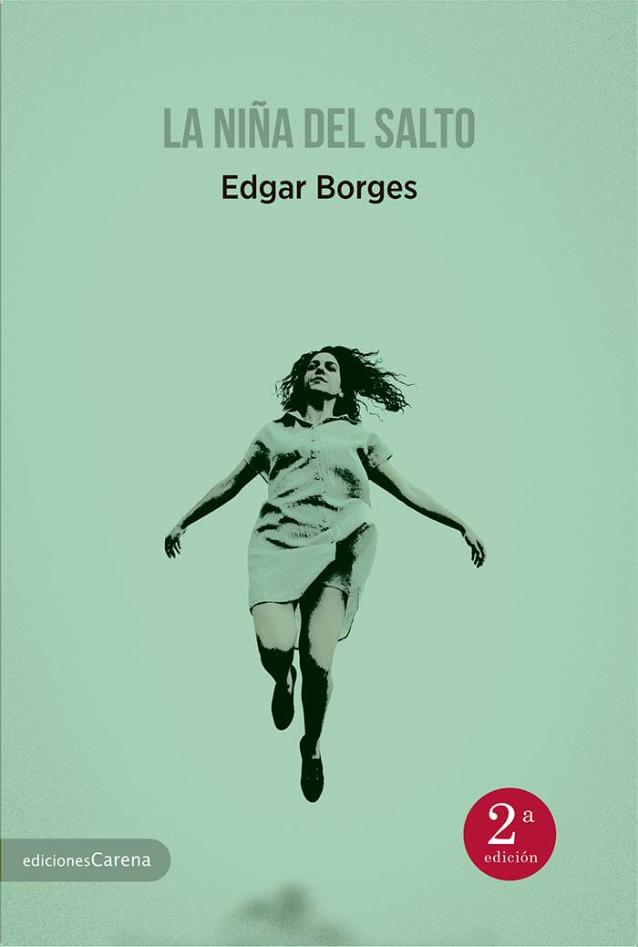 Portada de La niña del salto de Edgar Borges