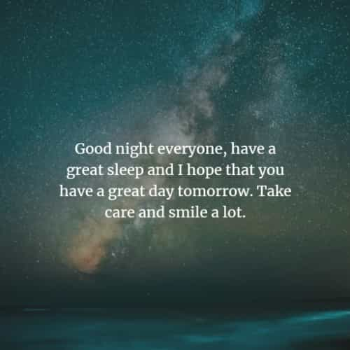 35 Inspiring Good Night Quotes And Messages For Loved Ones