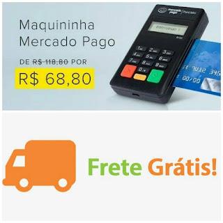 point mini, mercado pago, minizinha, cartão de crédito, brasil, vendas, 68,80, parcelado