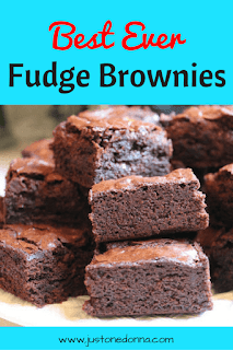 Best Ever Fudge Brownies
