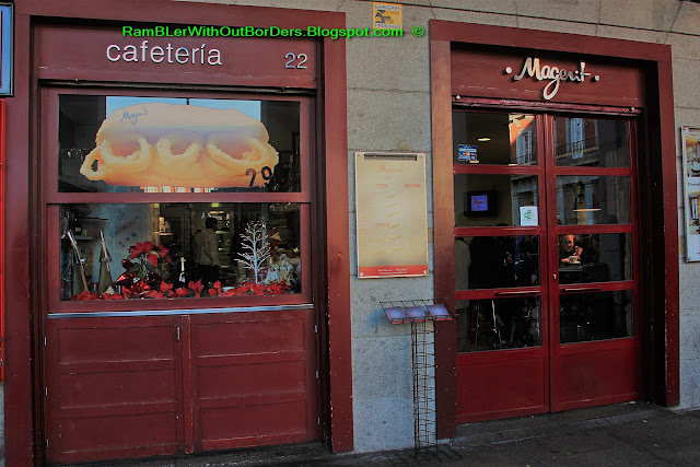Cafeteria Magerit, Plaza Mayor, Madrid, Spain