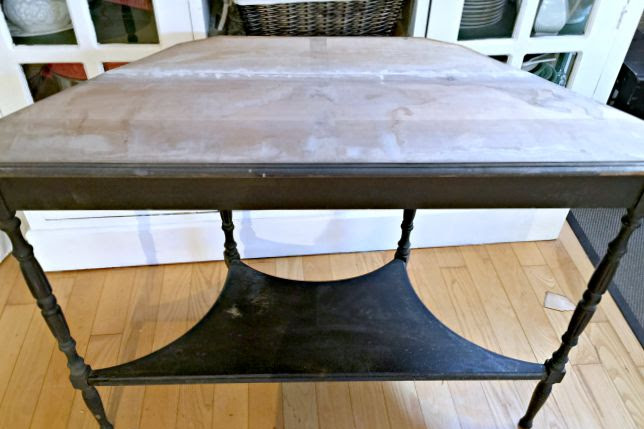 An Antique Table Save