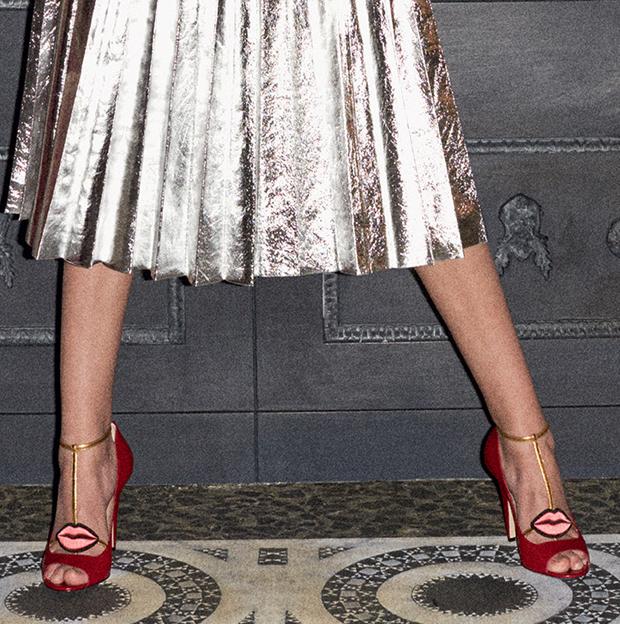523db89fbfab Gucci Pre-Fall 2016 Lip T-Strap Heels