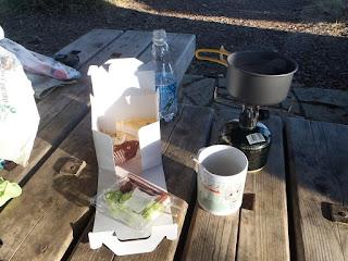 ヤマノススメ 聖地巡礼 関八州見晴台 山コーヒー