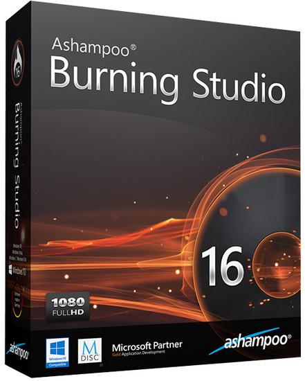 Ashampoo Burning Studio 16.0.7.16 Final DC 22.08.2016 poster box cover