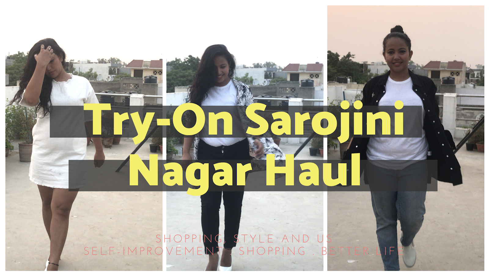 dcde43c2 Sarojini Nagar Market, New Delhi- May 2018 Haul, Prices and Try-on Videos!