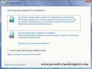 hal. update informasi