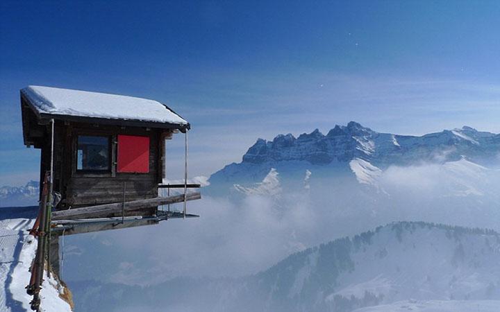 kışı resimleri dağlık alanda