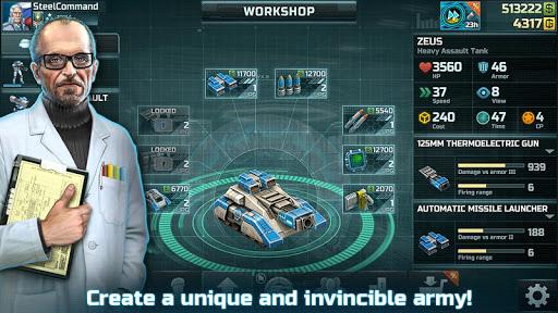 تحميل لعبة Art of War 3 حديثة مهكرة للاندرويد اخر اصدار