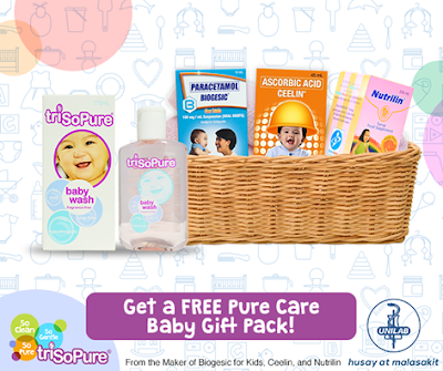 Get a FREE Pure Care Baby Gift Pack at your doctor's clinic!