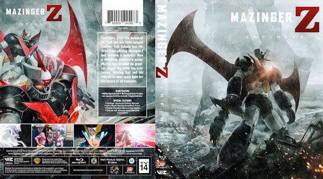 Mazinger Z: Infinity Bluray Cover