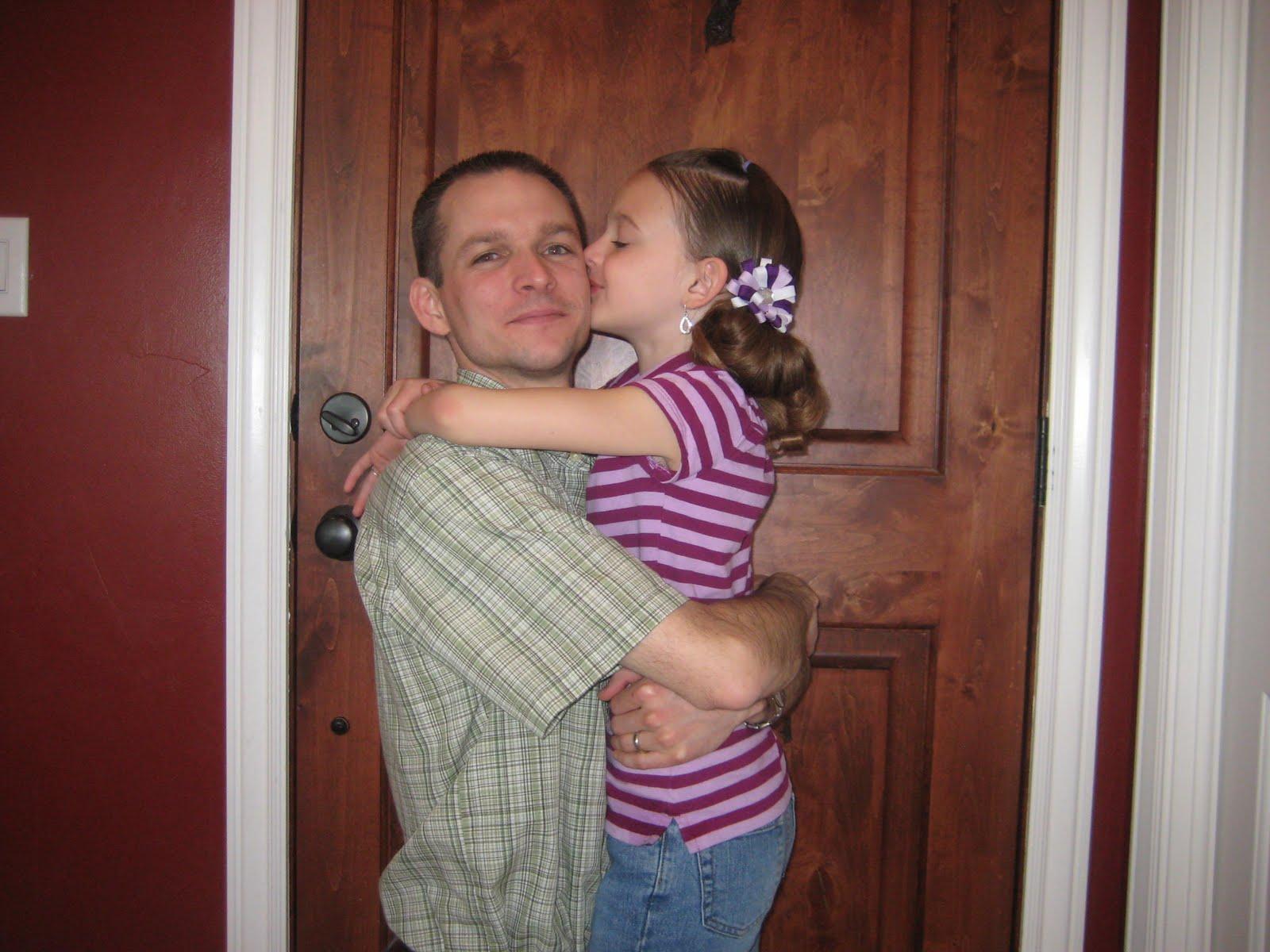 Daughter sucks father