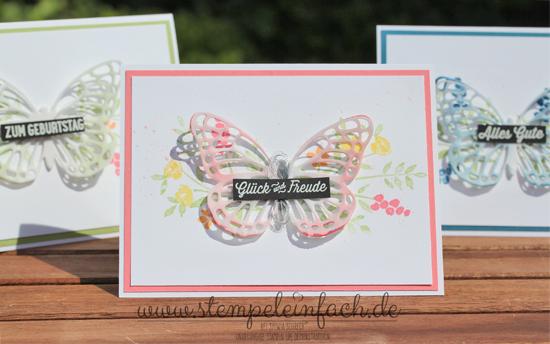 Schmetterlinge-Stampin up