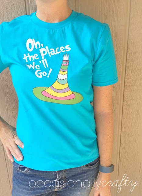 This is the perfect tshirt for a Dr. Seuss themed girls camp!