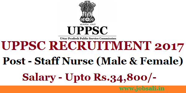 uppsc jobs, UPPSC Staff Nurse Recruitment, government jobs in up