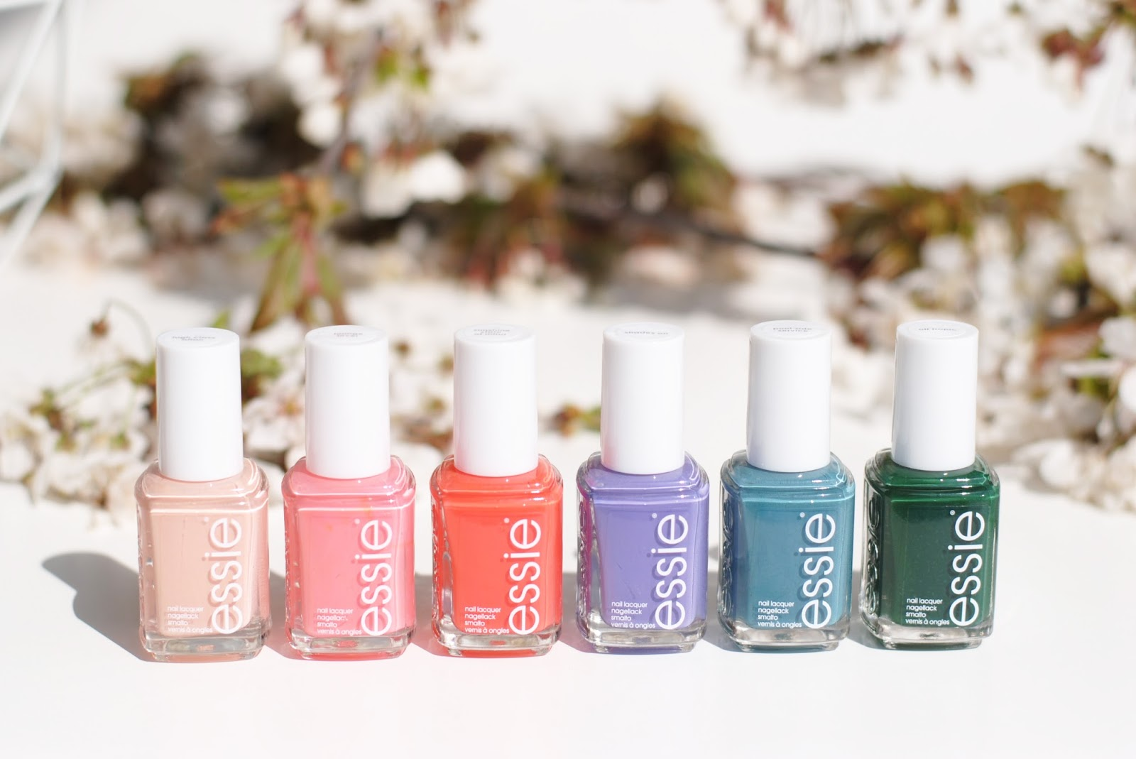essie spring collection 2016 review swatches