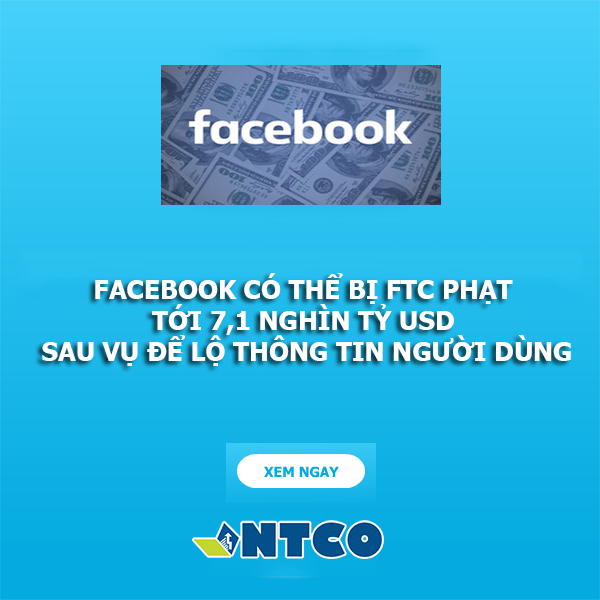facebook co the bi FTC phat 7,1 nghìn ty usd
