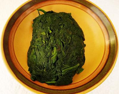 GARBANZOS CON ESPINACAS una tapa tradicional en Andalucia la cocinera novata receta cocina vegetariano vegano pobres legumbres guiso comino cilantro especias