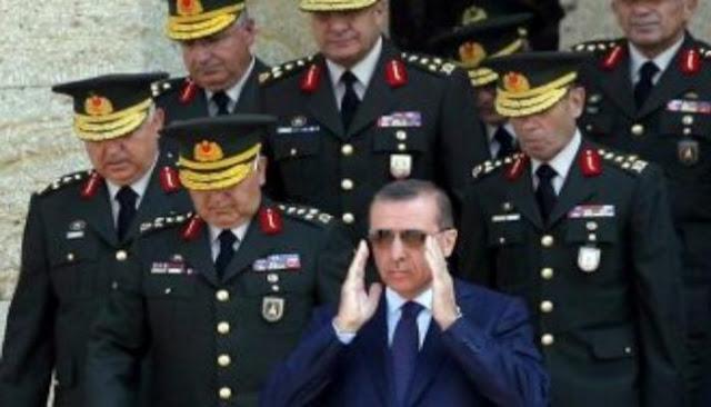 Ο Ερντογάν ξήλωσε δύο στρατηγούς γιατί είπαν θα χάσουμε ανατολικά του Ευφράτη